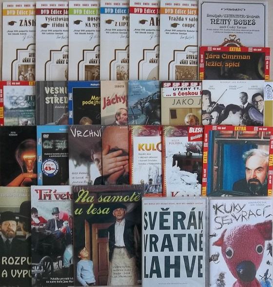 Kolekce  Zdeněk Svěrák - 28 DVD