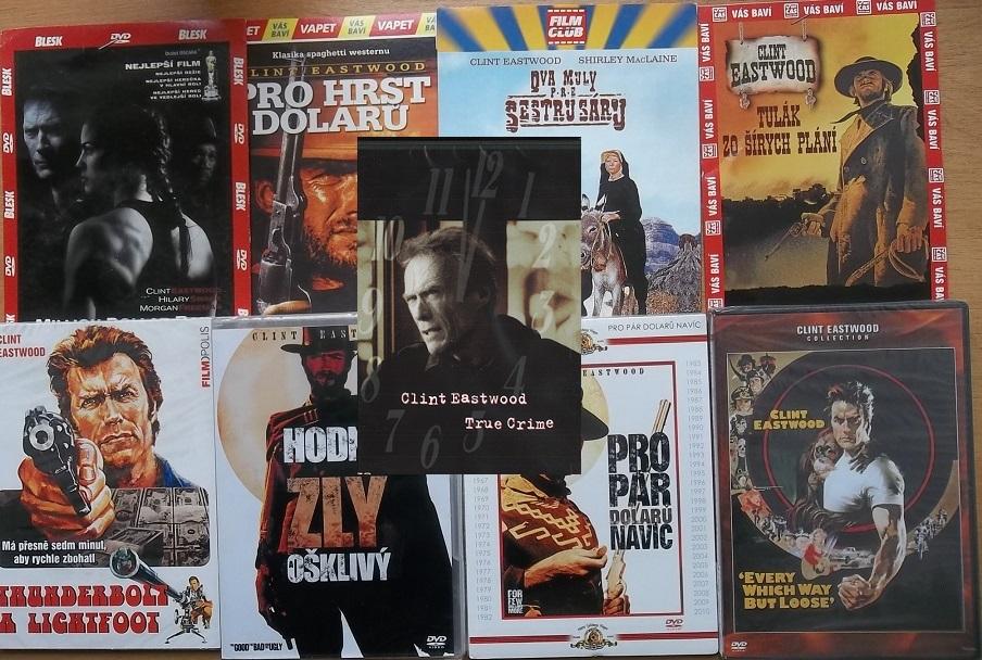 Kolekce Clint Eastwood - 9 DVD