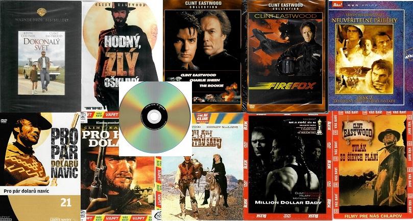 Kolekce Clint Eastwood - 11 DVD