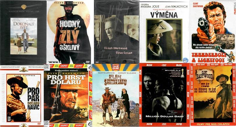 Kolekce Clint Eastwood - 10 DVD