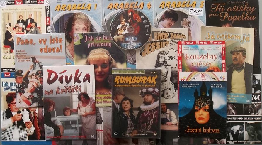 Kolekce Václav Vorlíček - 19 DVD