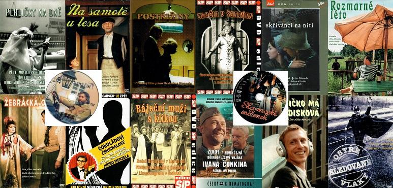 Kolekce Jiří Menzel - 14 DVD