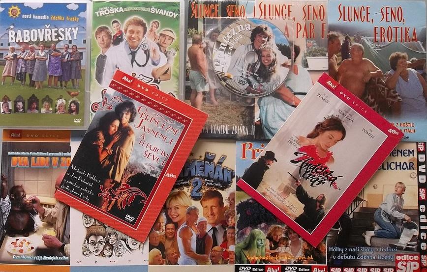 Kolekce Zdeněk Troška - 13 DVD