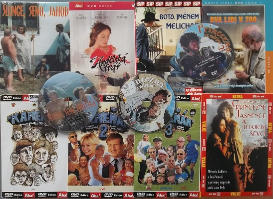 Kolekce Zdeněk Troška - 11 DVD