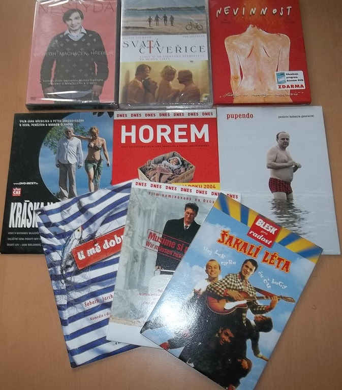Kolekce Jan Hřebejk - 10 DVD