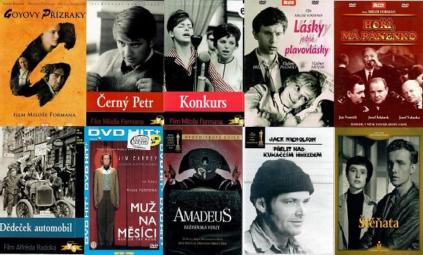 Kolekce Miloš Forman - 10 DVD
