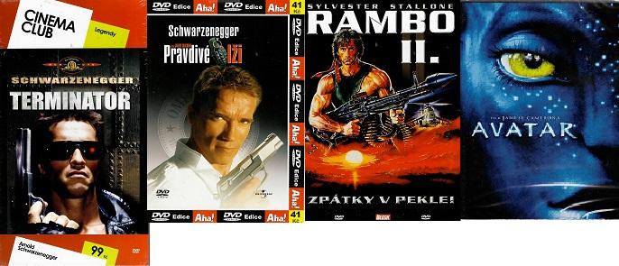 Kolekce James Cameron - 4 DVD