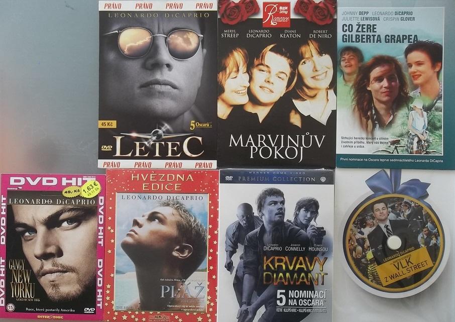 Kolekce Leonardo DiCaprio - 7 DVD