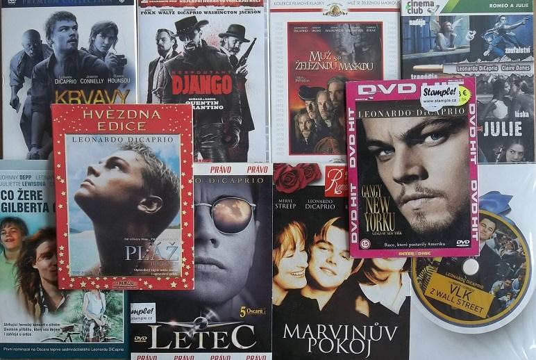 Kolekce Leonardo DiCaprio - 9 DVD