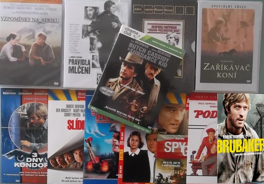 Kolekce Robert Redford - 12 DVD