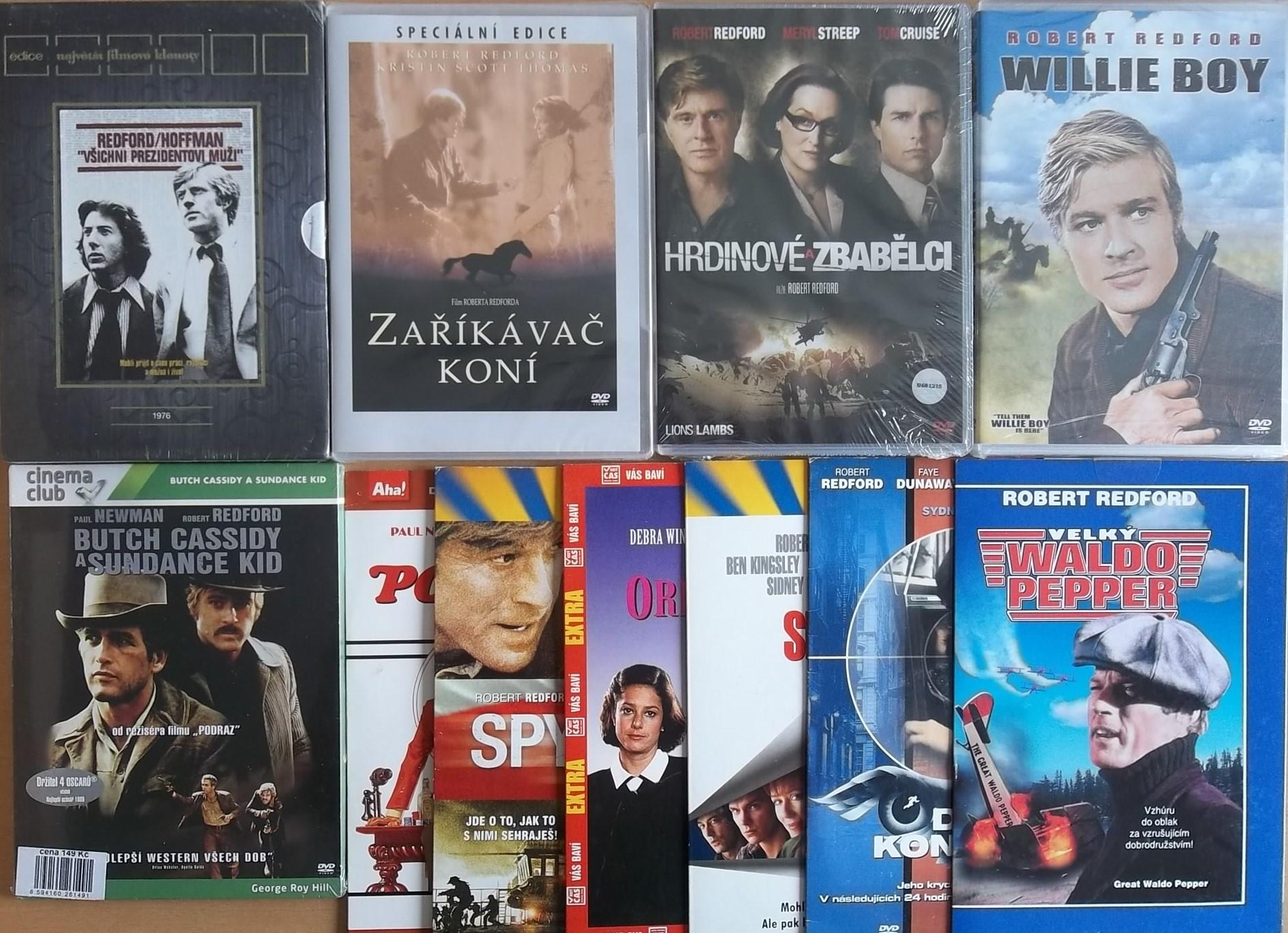 kolekce Robert Redford -11 DVD
