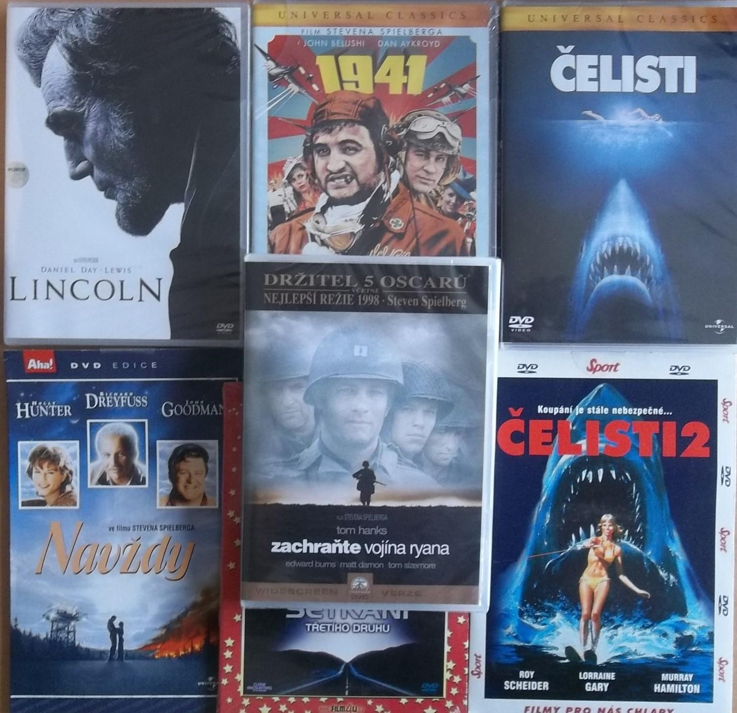 Kolekce Steven Spielberg - 7 DVD