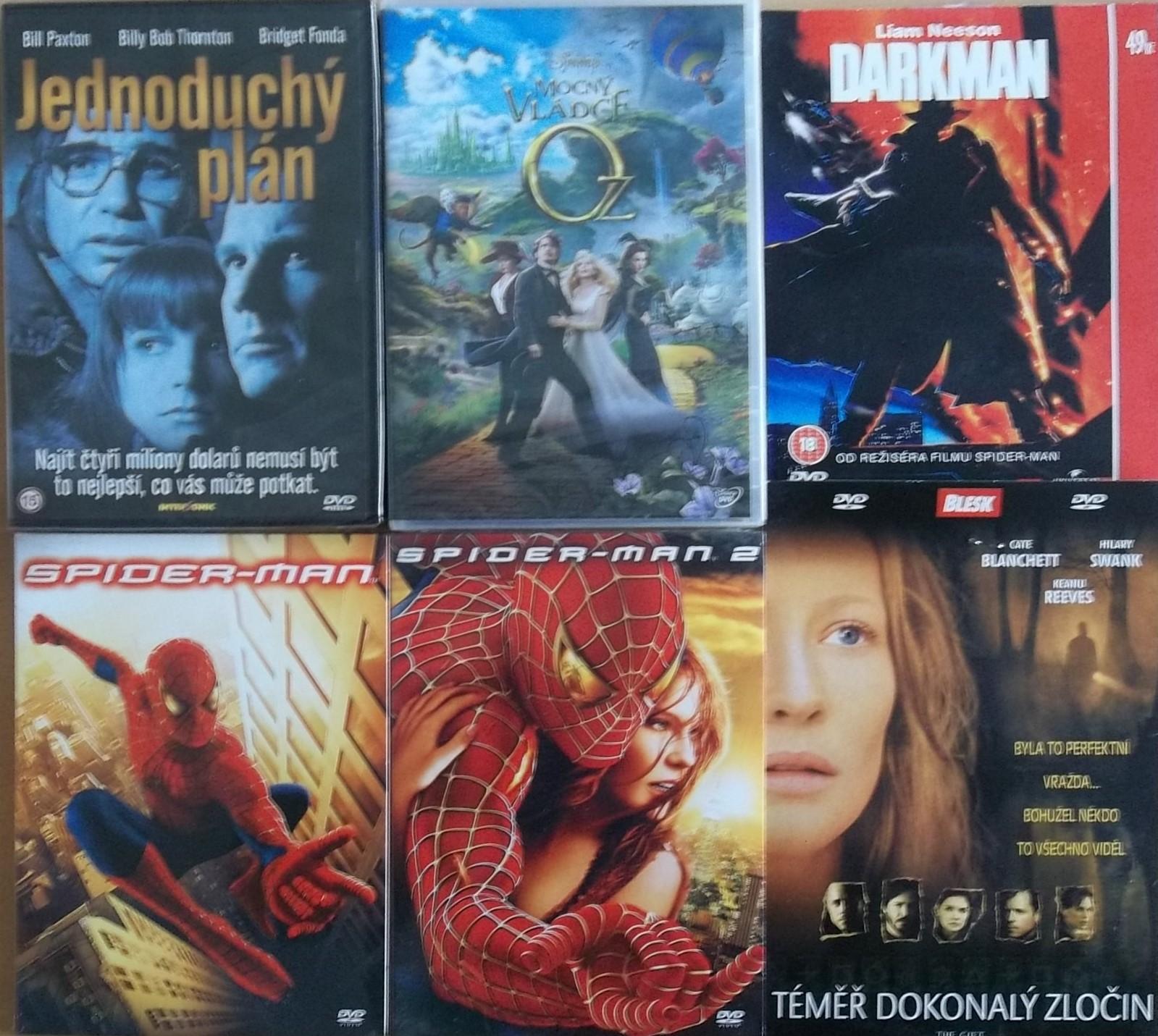 Kolekce Sam Raimi - 6DVD