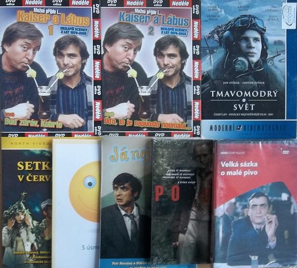 Kolekce Oldřich Kaiser - 8 DVD