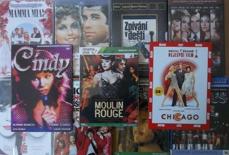 Kolekce Filmové Muzikály - 12 DVD
