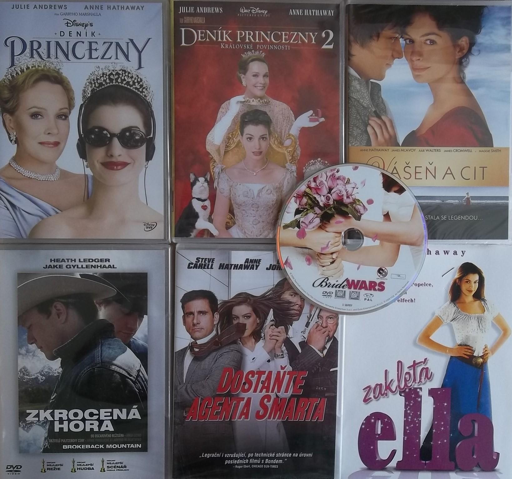 Kolekce Anne Hathaway - 7DVD