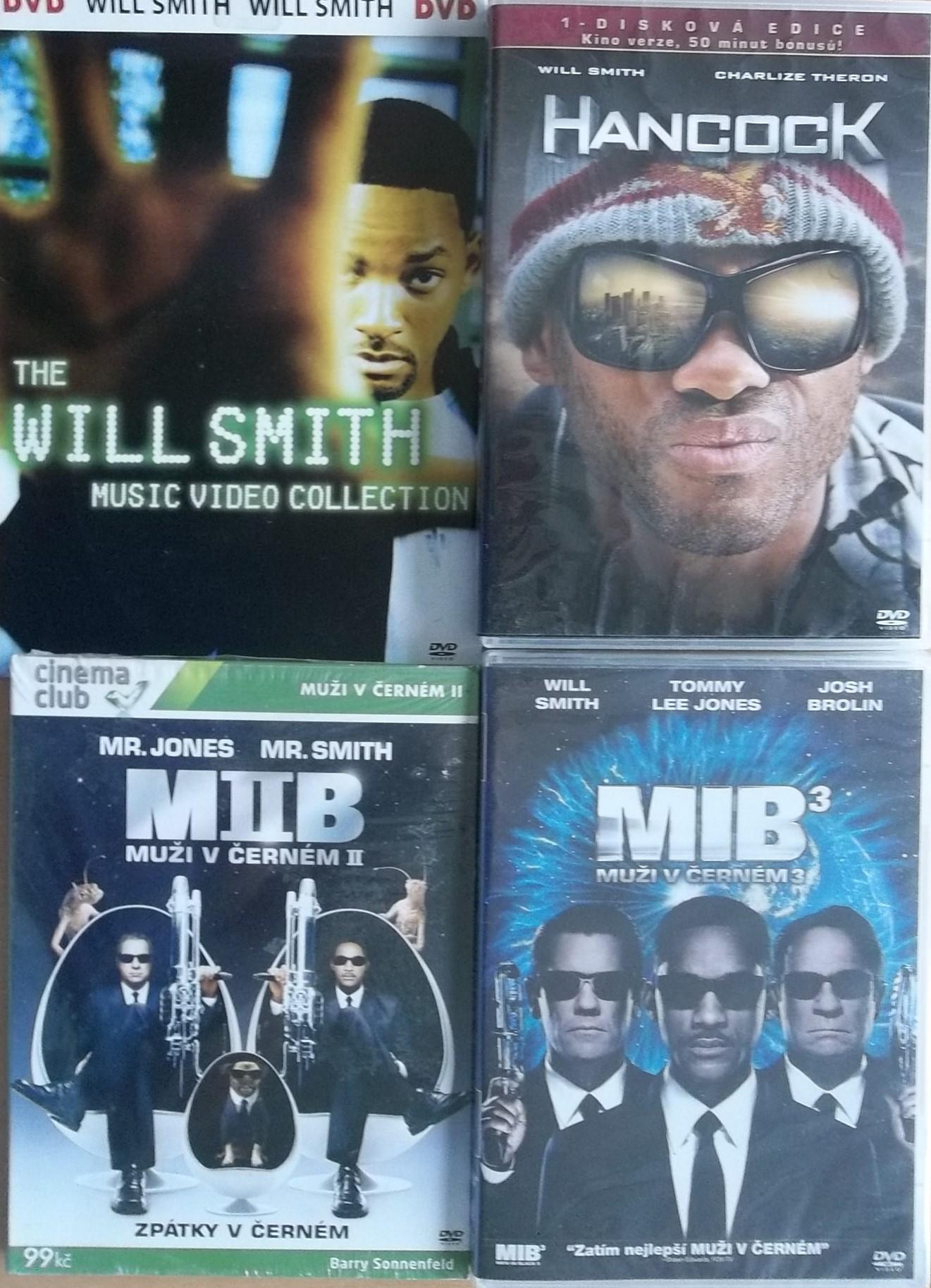 Kolekce Will Smith - 6 DVD+ 1CD