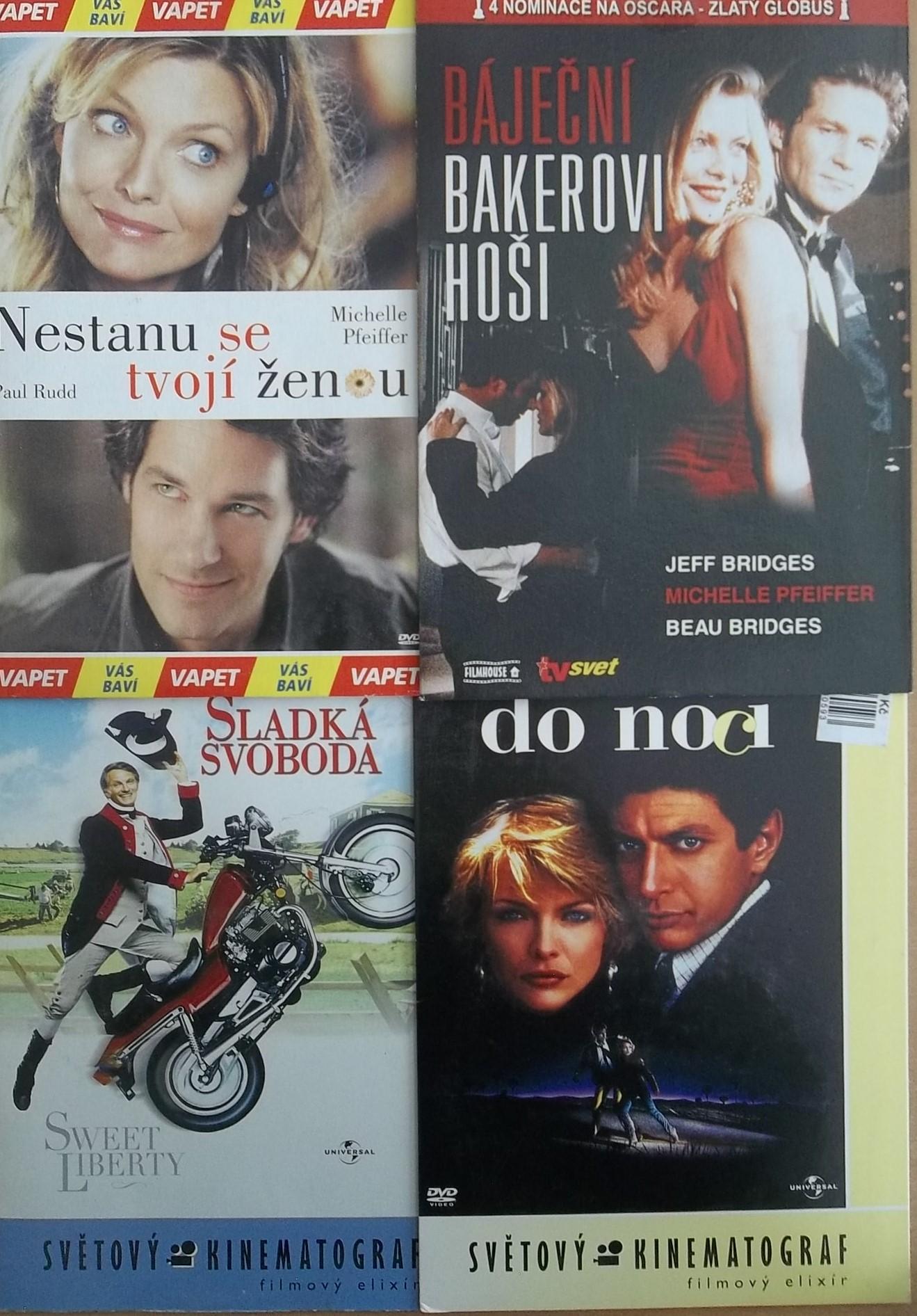 Kolekce Michelle Pfeiffer - 5 DVD