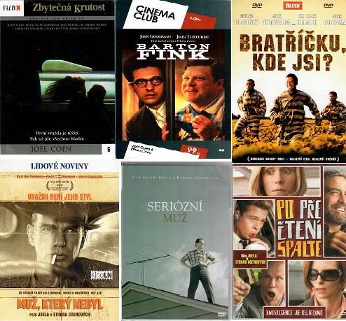 Kolekce Joel Coen - 6 DVD