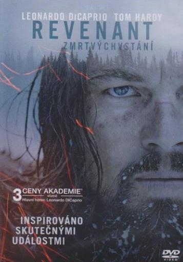 Revenant: Zmrtvýchvstání - DVD plast