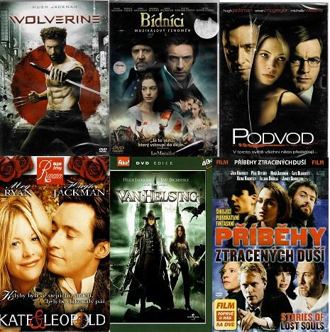 Kolekce Hugh Jackman - 6 DVD