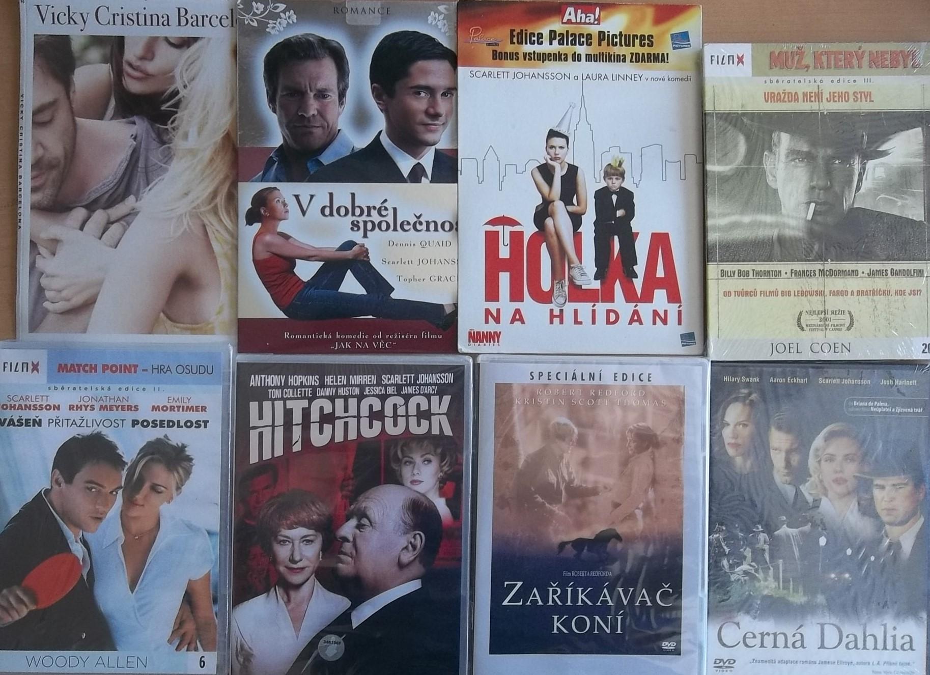 Kolekce Scarlett Johansson - 8 DVD