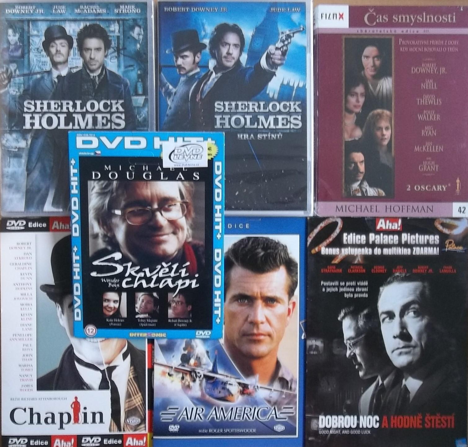Kolekce Robert Downey Jr. - 8 DVD