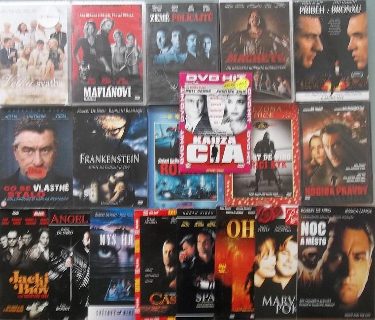 Kolekce Robert de Niro - 19x DVD