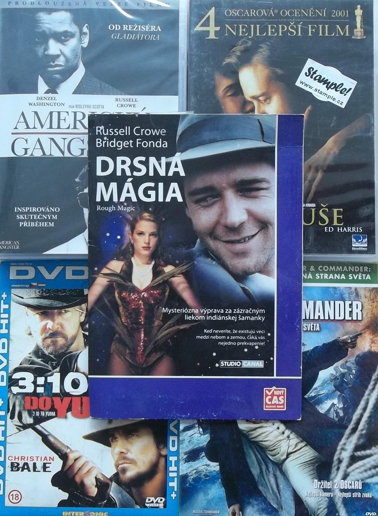 Kolekce Russell Crowe - 5 DVD