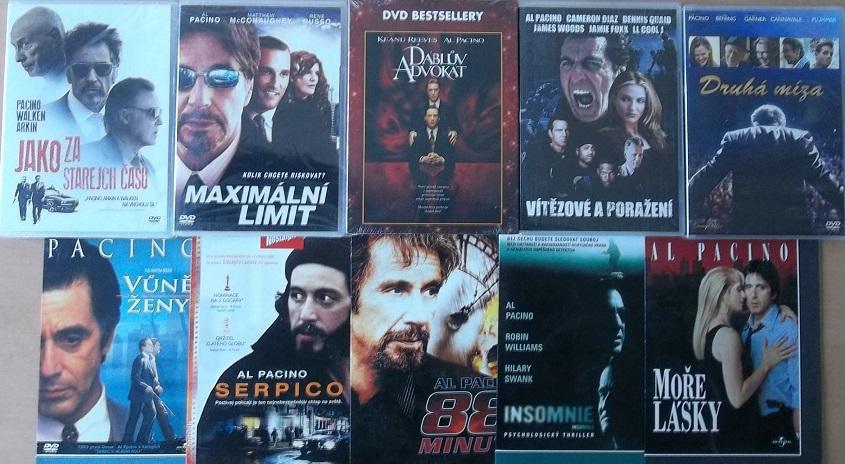 Kolekce AL Pacino - 10 DVD