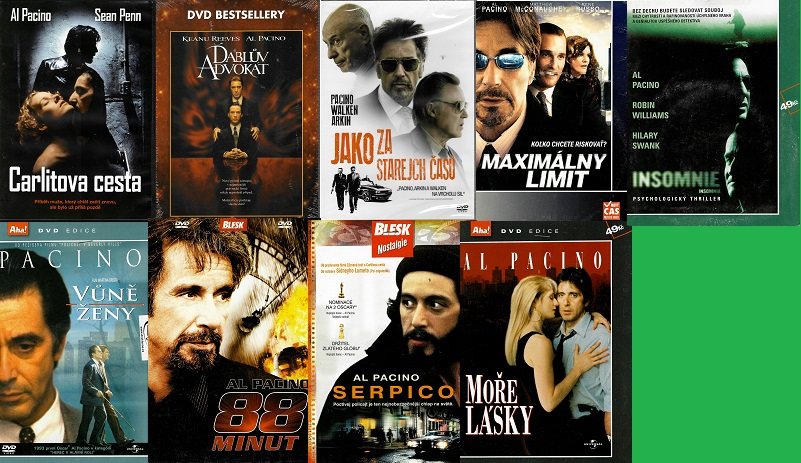 Kolekce AL Pacino - 9 DVD