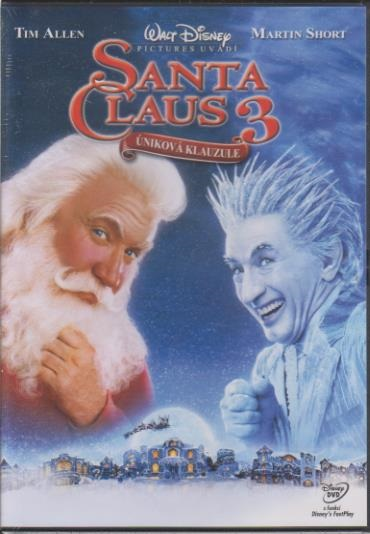 Santa Claus 3: Úniková klauzule - DVD