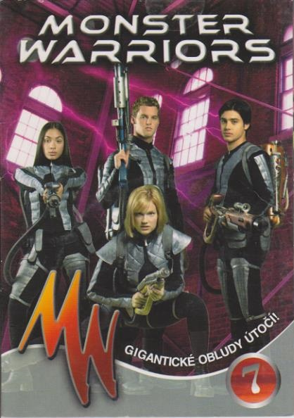 Monster Warriors DVD 7