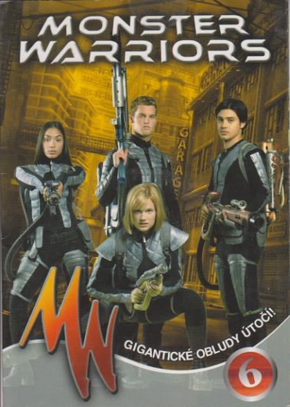 Monster Warriors DVD 6