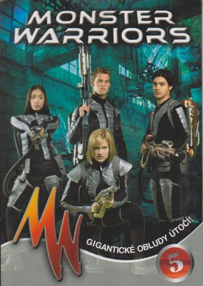 Monster Warriors DVD 5