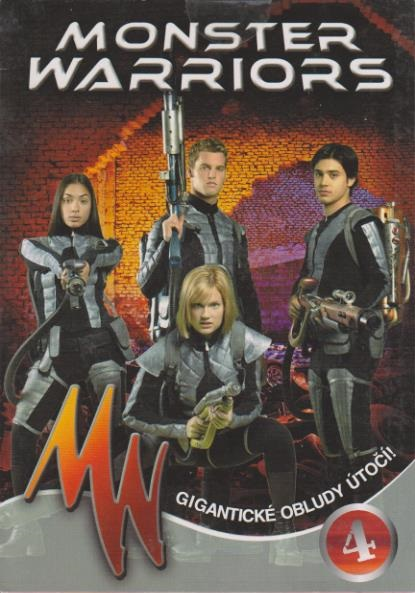 Monster Warriors DVD 4