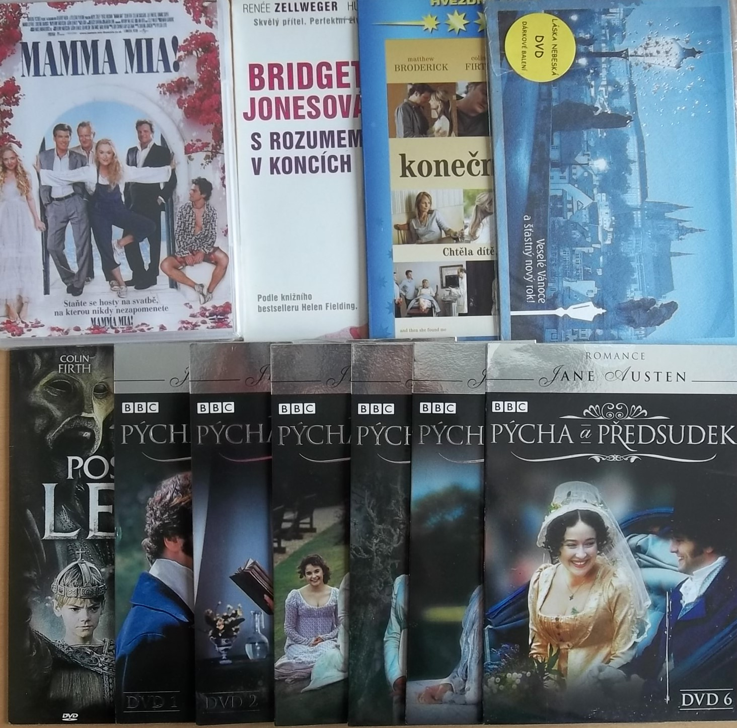 Kolekce Colin Firth - 11 DVD