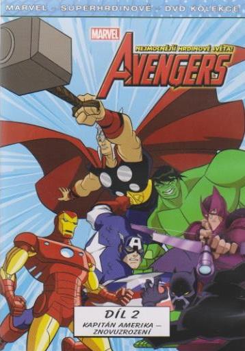 The Avengers: Nejmocnější hrdinové světa 2 ( plast ) - DVD