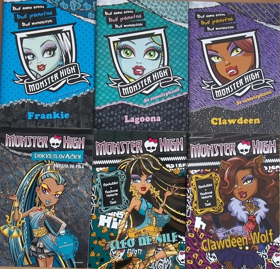 Kolekce Monster high