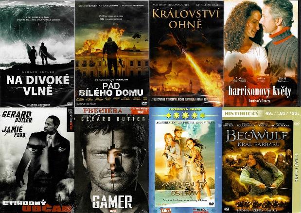 Kolekce Gerard Butler - 8 DVD