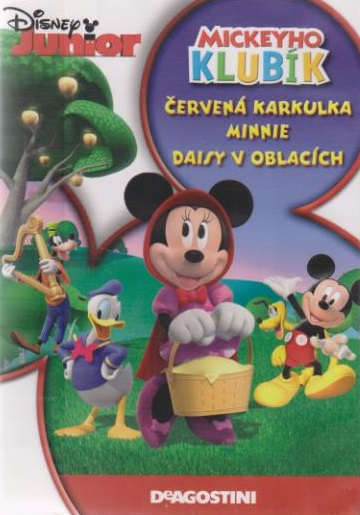 Mickeyho klubík: Červená karkulka Minnie,Daisy v oblacích