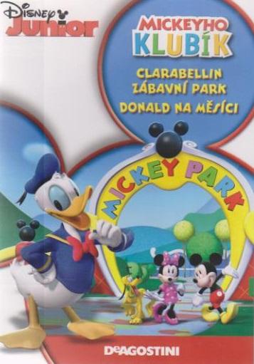 Mickeyho klubík: Clarabellin zábavní park,Donald na měsíci - DVD