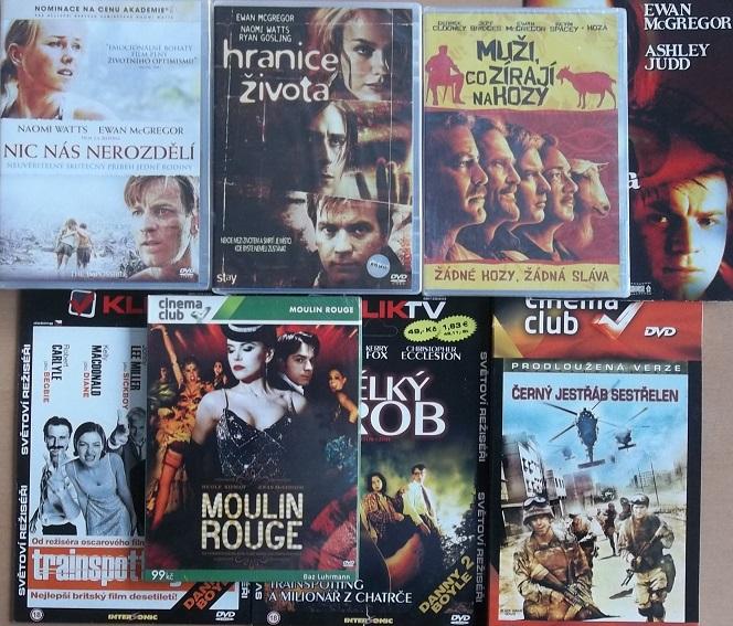Kolekce Ewan Mcgregor - 8 DVD