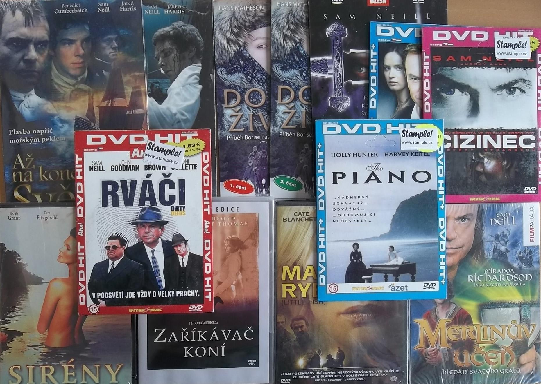 Kolekce Sam Neill - 14 DVD