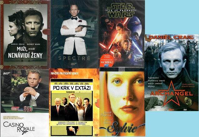 Kolekce Daniel Craig - 7 DVD