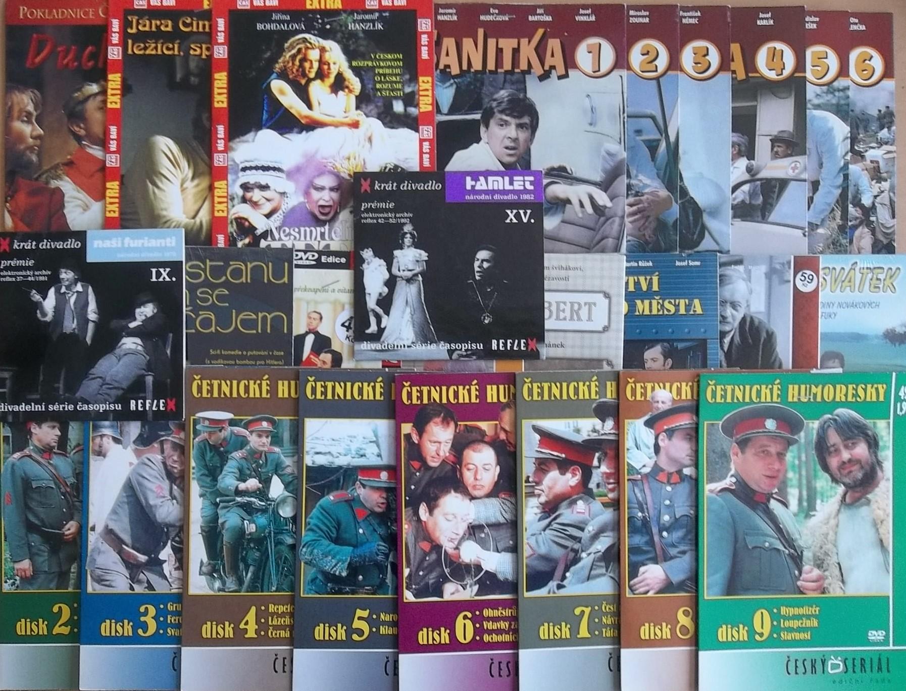 Kolekce Petr Kostka - 26 DVD