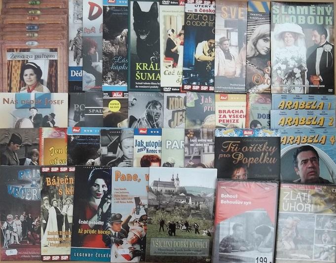 Kolekce Vladimír Menšík - 42 DVD