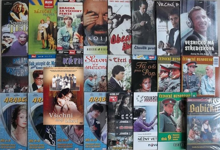 Kolekce Libuše Šafránková - 25 DVD