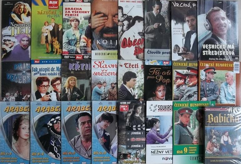 Kolekce Libuše Šafránková - 24 DVD