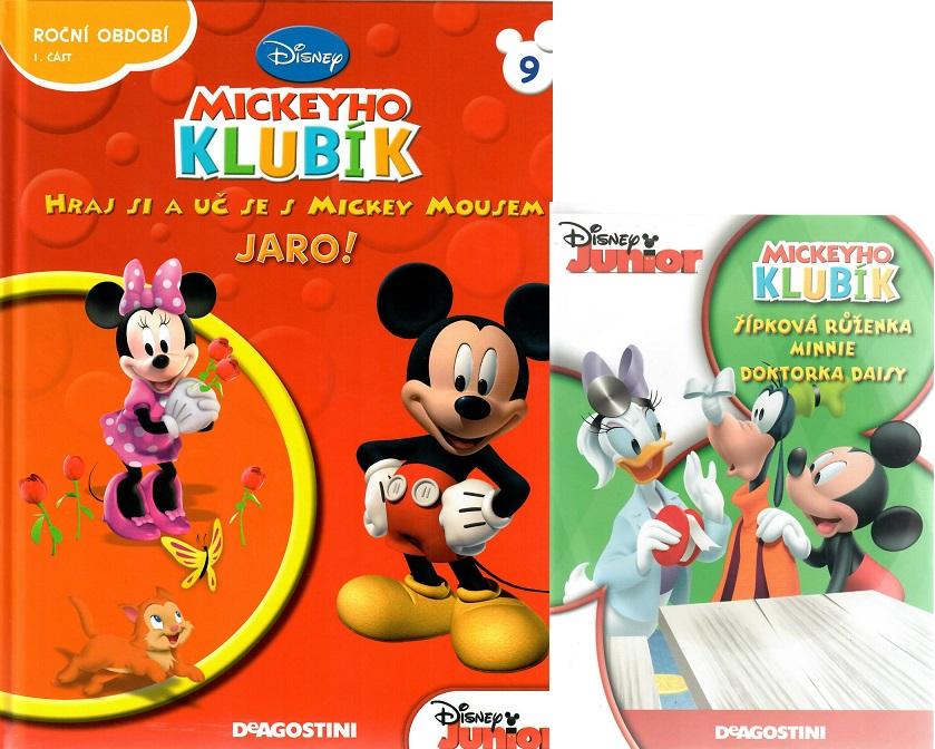 Mickeyho klubík 9 (DVD + kniha)